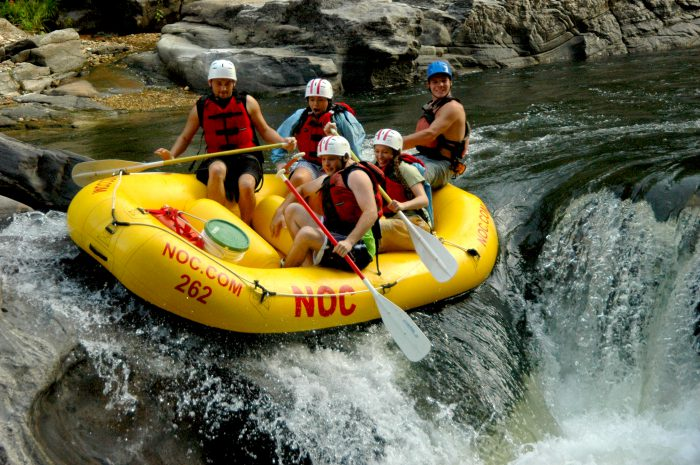White Water Rafting North Carolina