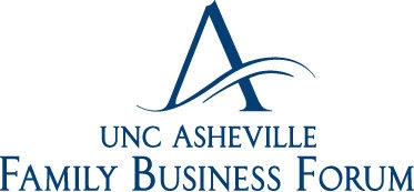 UNC Asheville Family Business Forum logo